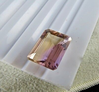 14.28 Cts Natural Ametrine Octagon Cut Gemstones For Pendant Ring