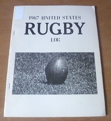 1967 United States Rugby Log. *Rare* (1st Edition).