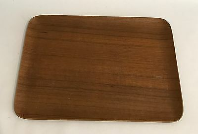 Teak Tablett 35x25cm Tray Denmark 50s 60s Design Danish Modern 60er 70er Plywood