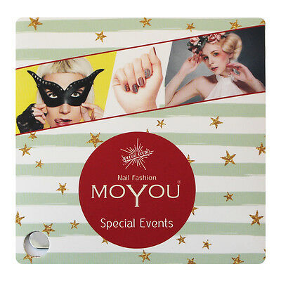 MoYou Nail Fashion ALICE nail art Stamping Plates, 7 plates to choose from