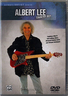 Albert Lee Country Boy Learn How to Play Electric Country Guitar Tuition DVD