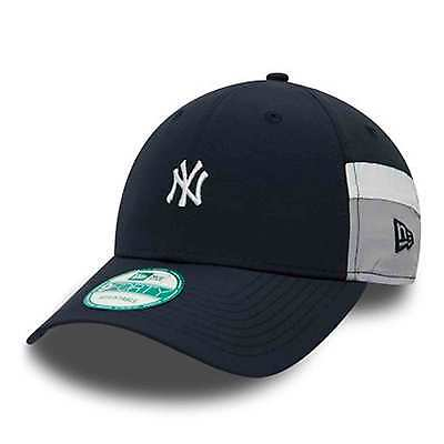 New Era MLB Men's New York Yankees Side Block Curve 9FORTY Adjustable Cap