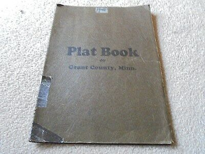 Plat Book of Grant County Minnesota 1948