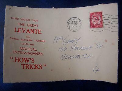 The great Levante Magician (Envelope Front)  -  Ephemera -  Theatre History