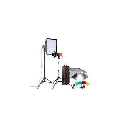 Kit 2 flashes de estudio Godox Smart 160SDI-E, 2 x 160W