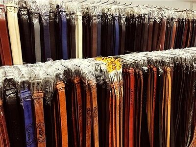Wholesale Joblot Ladies Mens PU Fashion Classic Belts Mix Colors Mix Sizes 30pcs
