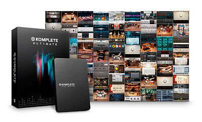 Native Instruments Komplete 11 Ultimate Update from Komplete Ultimate 8-10 (NEW)