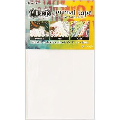 Dyan Reaveley's Dylusions Journal Tape Strips, 6 sheets, 3 widths, .75in, 1in...