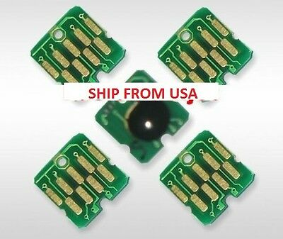 5 PCS one time cartridge chip for epson t3000 t5000 t7000 t3270 t5270 t7270