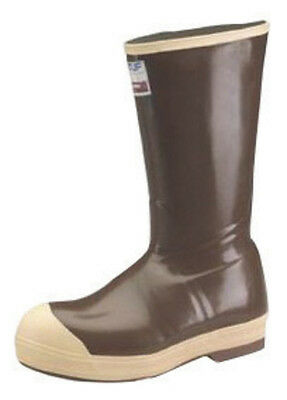 Norcross Size 9 XTRATUF  Copper Tan 16'' Insulated Neoprene Boots With Chevron