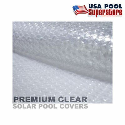 27' Round Swimming Pool Solar Cover Blanket 12 Mil