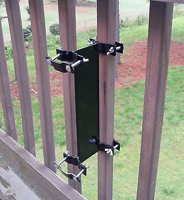 Umbrella Mount Clamp-on deck rail or fence