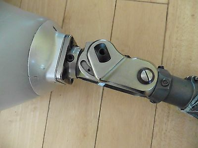 vintage Prosthetic Leg Above Knee Foot Titan Otto Bock Titanium Western Germany