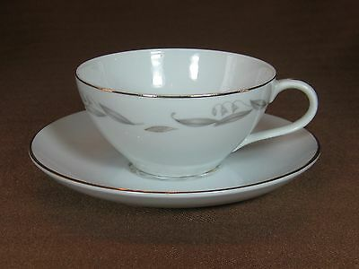 Kaysons Fine China Golden Fantasy Cup and Saucer Gold Trim