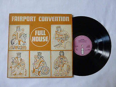 Fairport Convention ~ Full House ~ Ex+/vg ~ 1970 Uk 1St Press Folk Rock Vinyl Lp