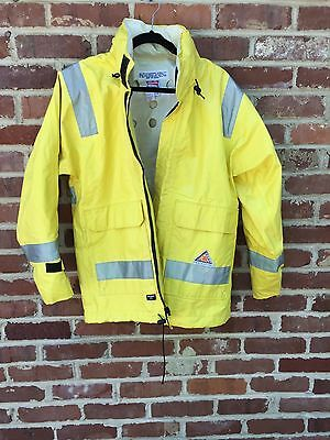 Bulwark Extreme Flame Resistant Jacket High Visibility Yellow Size Small FR Coat