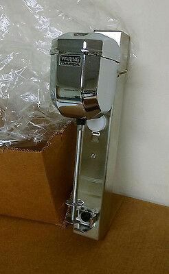 NEW  Waring Commercial Heavy Duty Die Cast Metal Wall Mount Drink Mixer