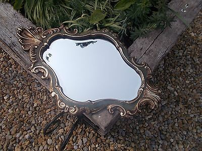 Stunning Beveled Edged French Vintage Gold Gilt Baroque Mirror Ref T11/22