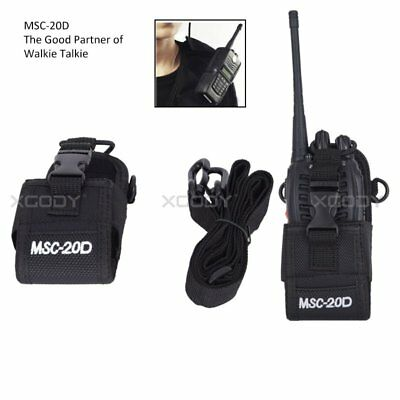 Walkie Talkie Case Bag Protector Pouch Sheath For Two Way Radio Baofeng PUXING