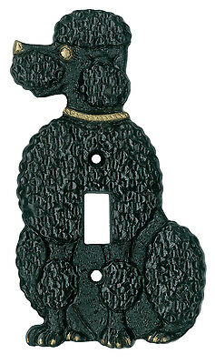 Poodle Light Switch Plate
