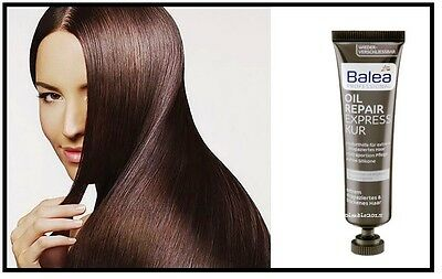 BALEA Professional Oil Repair Express Hair Mask, Phyto-keratin & Argan Oil 20 ml
