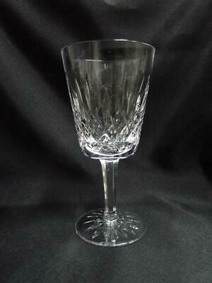 """Waterford Crystal Lismore: Water & Wine Goblet (s), 6 7/8"""" Tall, 10 oz."""