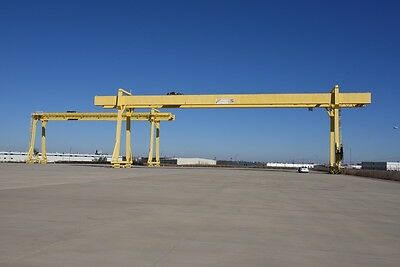 North American Industries, 90T/45T Gantry Cranes With 985' Runway, 171' Span