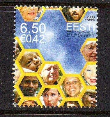 Estonia Mnh 2006 Sg521 Europa - Integration