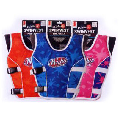 Wahu Buoyancy Aid Vest - Multiple Colours & Sizes Available -  Light Weight