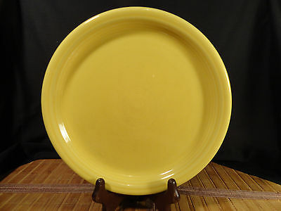 Fiesta Homer Laughlin Yellow 9-Inch Plate