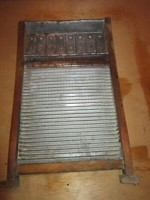 Antique Washboard National Washboard Co.Chicago Saginaw Memphis