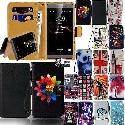 Leather Flip Card Wallet Stand Cover Case For Various XGODY Model SmartPhones