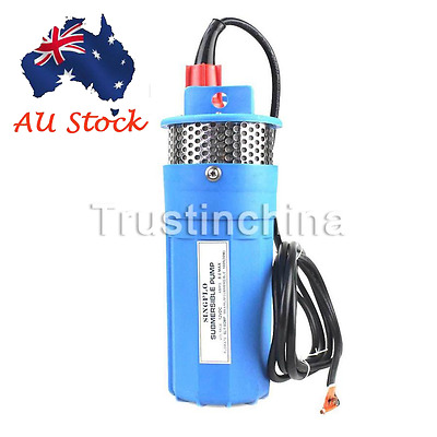 Farm & Ranch SOLAR POWERED Submersible DC Water Well Pump 12v 230FT+ Lift BL AU
