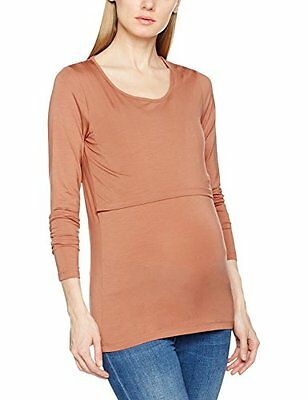 MAMALICIOUS MLADELE PETIT JUNE L/S JERSEY TOP NF A V, Pullover Donna, Rosa (Ced