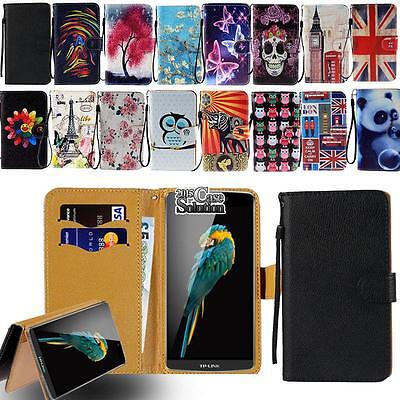 Leather Flip Stand Wallet Card Cover Case For Various TP-LINK Neffos SmartPhones