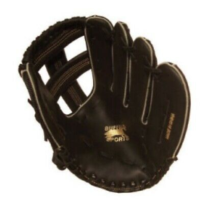 Buffalo Sports Leather Palm Softball / Baseball Glove - 11.5 Inch (Base003)