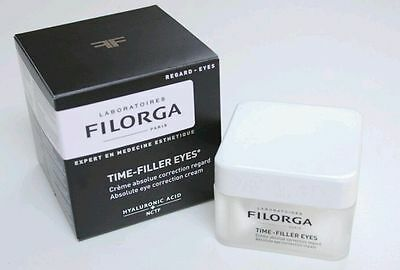 Filorga TIME-FILLER EYES Absolute Correction Eye Cream 15ml *New/sealed* RRP £44