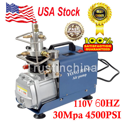 110V 30MPa Air Compressor Pump PCP Electric High Pressure System Rifle US FAST !