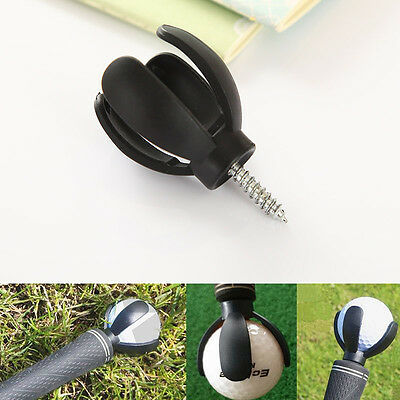 4-Prong Attachable Golf Ball Pick Up Retriever Grabber Claw Tool Picking Device
