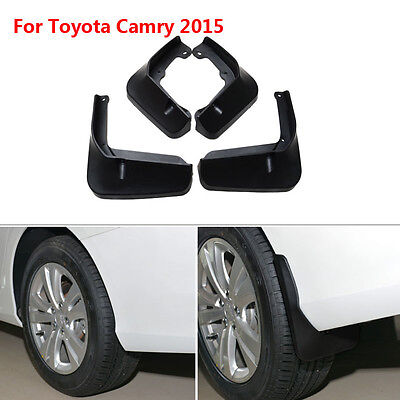 For Toyota Camry 2015 4pcs ABS Mud Flaps Splash Guards Fender Mudguard