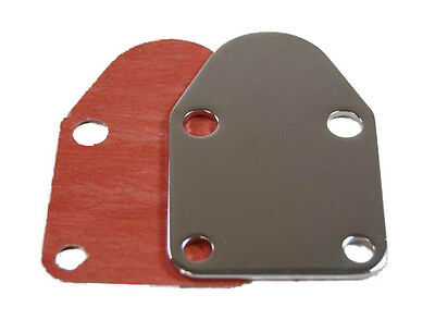 Fuel Pump Block-Off Plate Small Block Chevy S2057