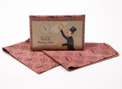 GOLD POLISHING CLOTH - Brilliant Gold Poliertuch - TOWN TALK - Schmuck reinigen