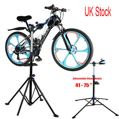 360° Rotatable Bike Bicycle Repair Stand Workstand Maintenance Rack Adjustable