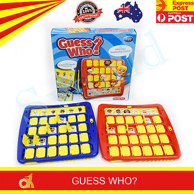 The Original Guessing Game Of Guess Who Intellect Games