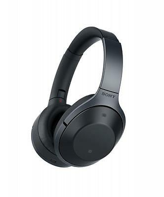 Sony Premium Noise Cancelling Bluetooth Over ear Headphone Black MDR-1000X
