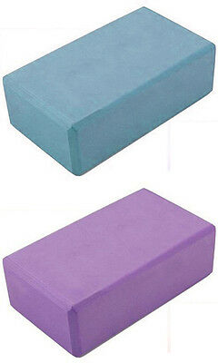"NEW Yoga & Pilates EVA Foam Block / Brick! Stretch Aid Exercise Gym 3"" x 6"" x 9"""