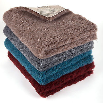 Marbled Vet Pet Bed MAT Pro Non Slip Rubber Backing Machine Wash