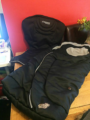Maxi Cosi Loola/Up V1 **SEAT COVER & FOOTMUFF** BLACK reversible BLACK
