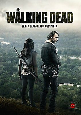 The Walking Dead 6 Temporada Dvd Español Precintado Nuevo Castellano Sexta