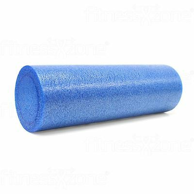 Foam Roller Yoga Massage Workout Exercise Rehab Physio Gym Therapy 15x45cm Blue